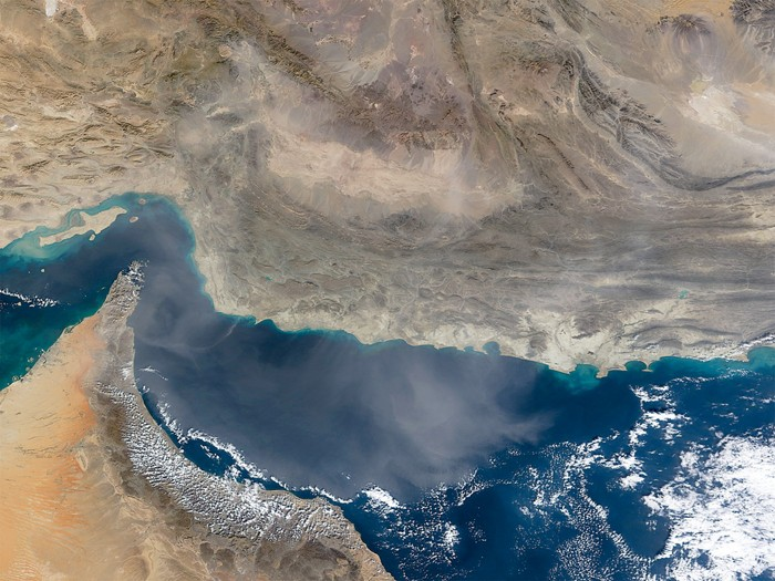Gulf of Oman has enormous dead zone severely depleted of oxygen