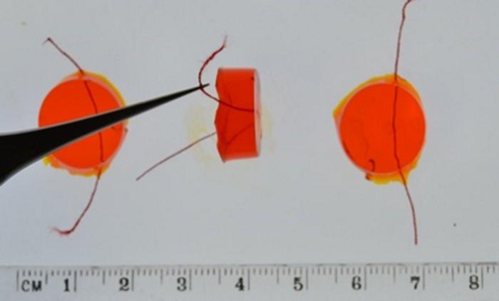 Fluorescent sensor provides early warning for blocked catheters