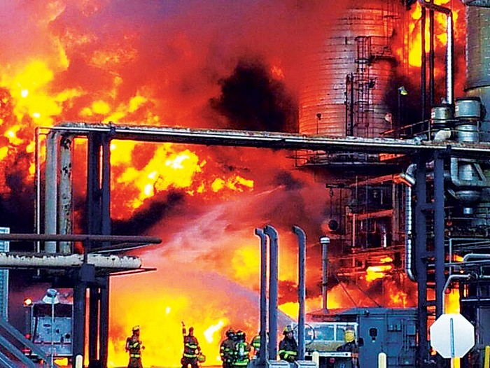 Chevron reaches $160 million settlement over refinery accidents