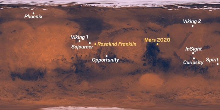 3 rovers will head to Mars in 2020  Here's what you need to