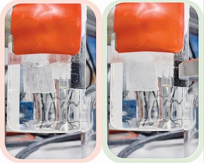 Magnet doubles hydrogen yield from water splitting