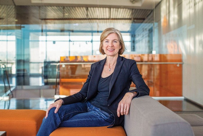 A day with Jennifer Doudna: Trying to keep up with one of the world's most sought-after scientists
